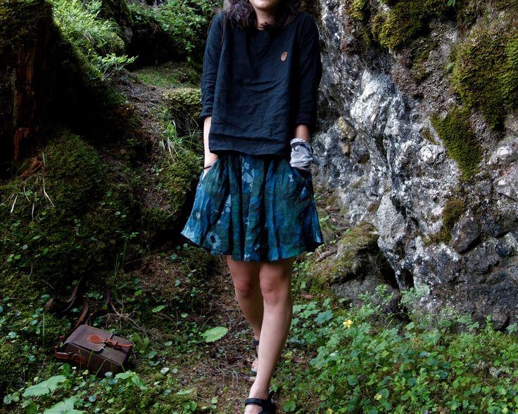 Linen Skirt, Short Skirt