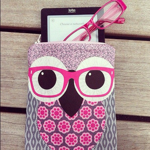 This Kobo case is a Hoot! lol