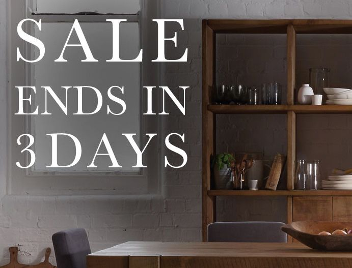 SALE ENDS IN 3 DAYS | Remember To Enjoy Up To 15% OFF All Indigo Furniture  And Up To 20% OFF Homewares. SHOP The Winter Sale Here» ...