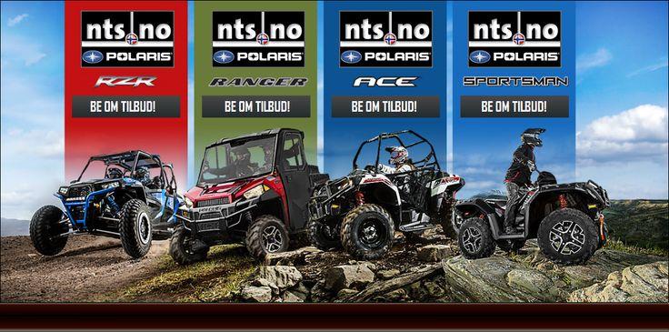 Polaris ATV! Verdens tøffeste terrengkjøretøy.