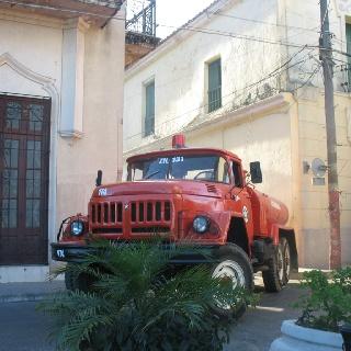 Fire engine Carmeguey Cuba