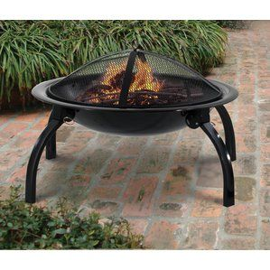 Like to Quirck Fire Steel Wood Burning Fire Pit