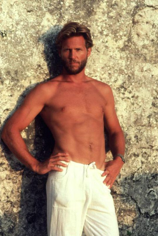 Jeff Bridges in Against All Odds - just looking at this snapshot makes my heart race