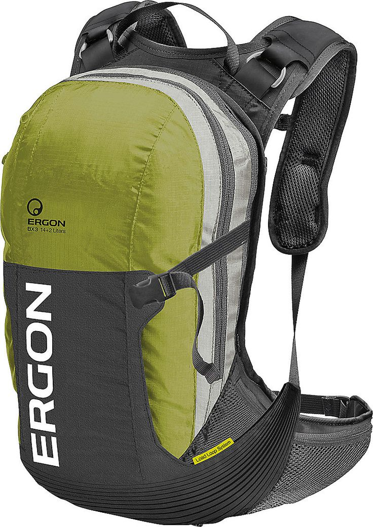 Ergon BX3  Ergonomically designed to not hurt your back