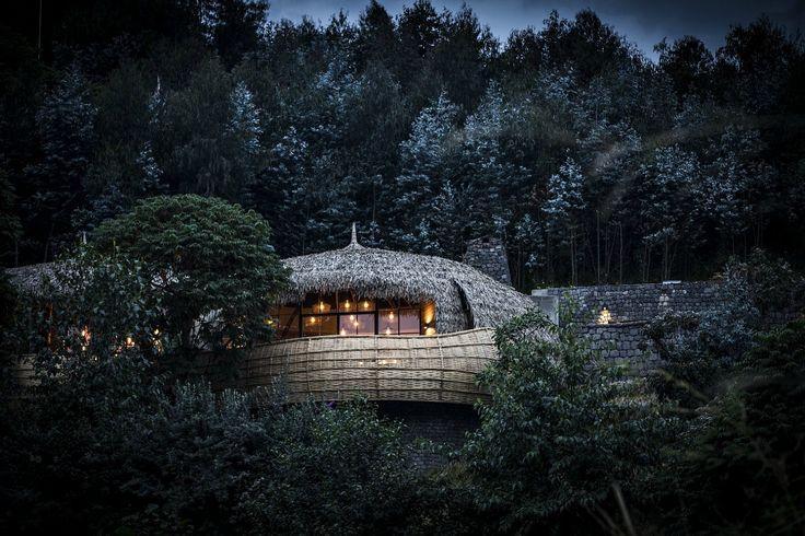 Bisate Lodge – Rwanda – Stunning treehouse retreat in Rwanda sets a new standard for ecotourism