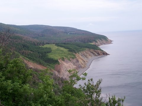 Mabou Highlands hiking trails w/ view. I went on this hike maaany times as a kid, and loved every single second of it!