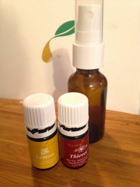 My Essential Oil Adventure: DIY Thieves sore throat spray