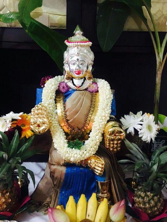 Pin By Vishnu Vishal On Varalakshmi Puja Decoration