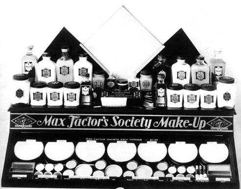 Max Factor's Society Make up - Présentoir de Magasin - 1928