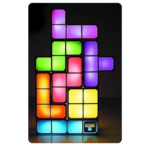 Tetris Constructable Light Lamp