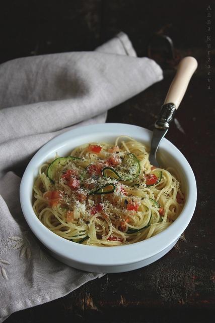 Спагетти с цуккини