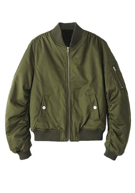 Best 25  Green bomber jacket ideas on Pinterest | Bomber jackets ...