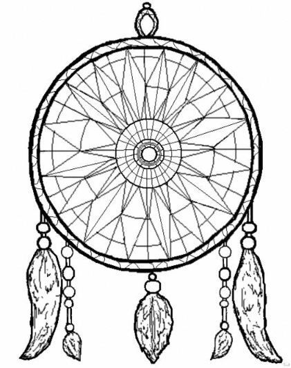 118 best Dreamcatcher Coloring Page images on Pinterest Mandalas