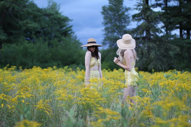 by Amy MerrickEden Inspiration, Summer Hats, Beautiful Hues, Style, Summer House, Yellow Photography, Meadow, Fields Of Dreams, Summer Shorts