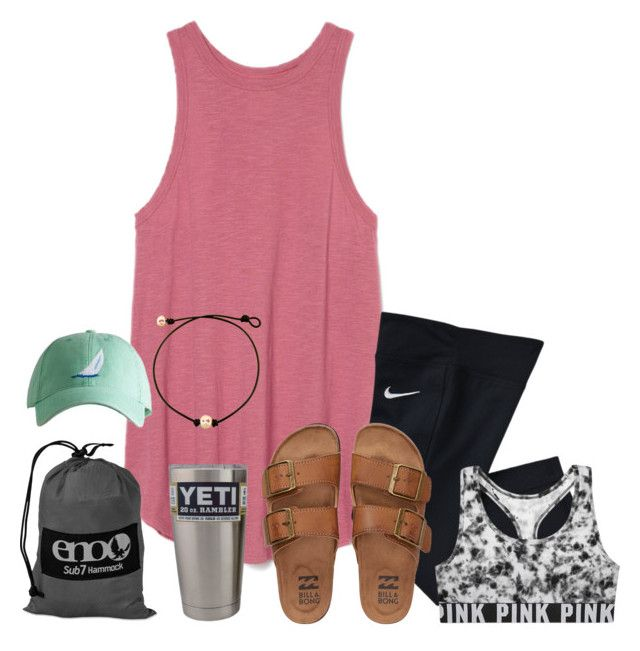 """And I watch your life in pictures...."" by xofashionbabe ❤ liked on Polyvore featuring NIKE, Billabong, ENO and Victoria's Secret"