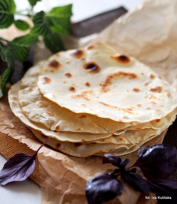 Smaczna Pyza: Tortille pszenne domowe