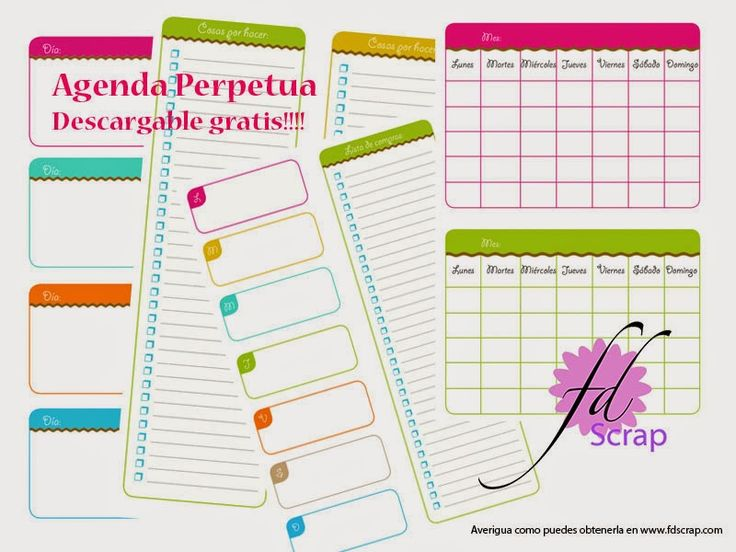 45 best Agendas gratis images on Pinterest Free printables - agenda download free