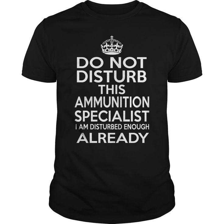 (Tshirt Produce) AMMUNITION SPECIALIST DISTURB T4 [TShirt 2016] Hoodies, Funny Tee Shirts