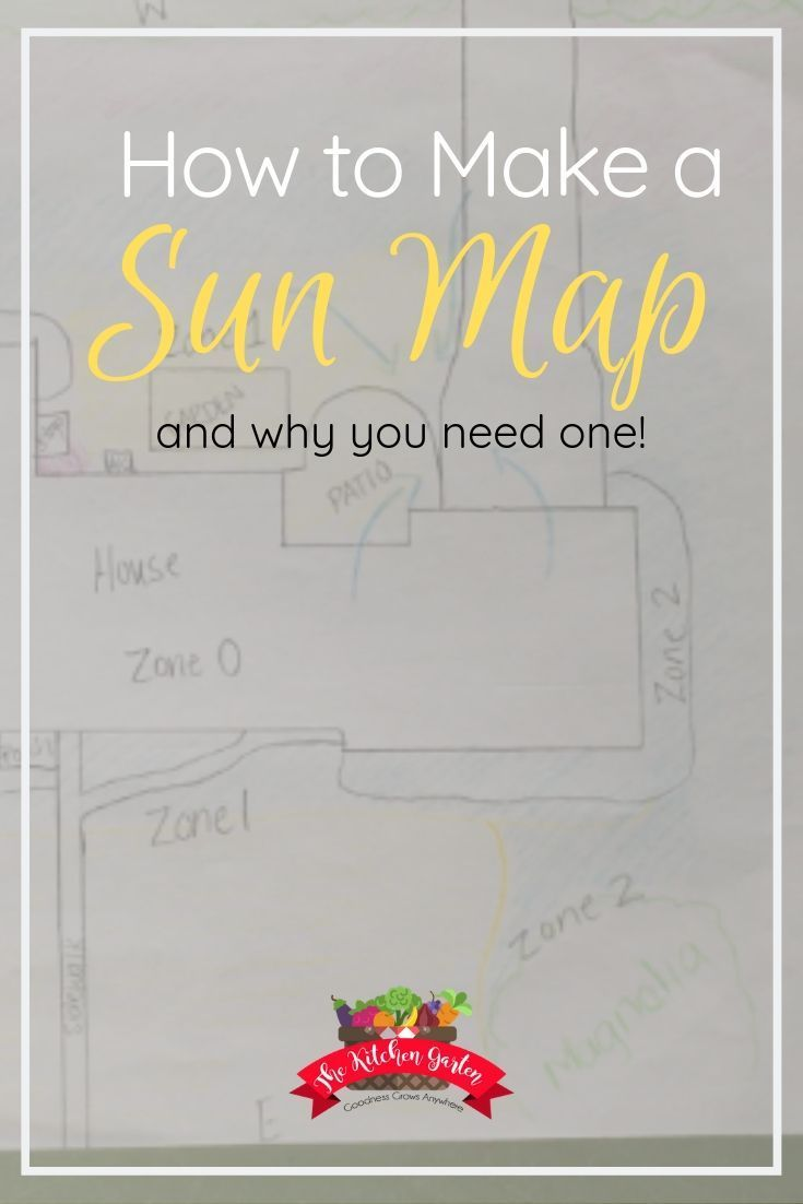 Understanding the right way to make a solar map let's you intend out your backyard, container gard…