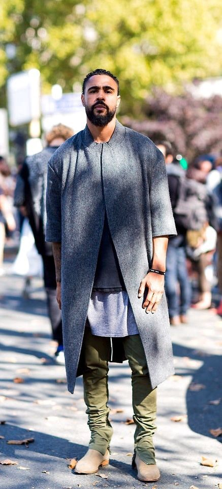 Clean cuts and classic boots makes for a really cool modern look.