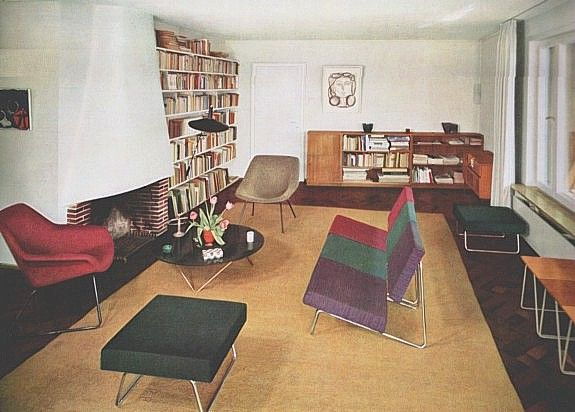 + Ameublement Et Decoration Modernes, 1961 Very Current Design Elements  Found In This Book From The Like Somethi.