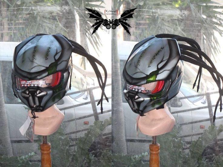 Cellos Predator Helmet For Bikers #Custom