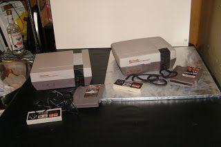 Of Cakes and Cupcake (and Apollo too): Old School Nintendo Cake: Happy Birthday Joe!
