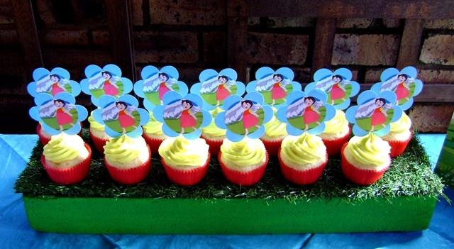 Heidi Picture Cupcakes