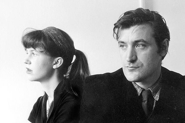 Sylvia Plath and Ted Hughes 1960.