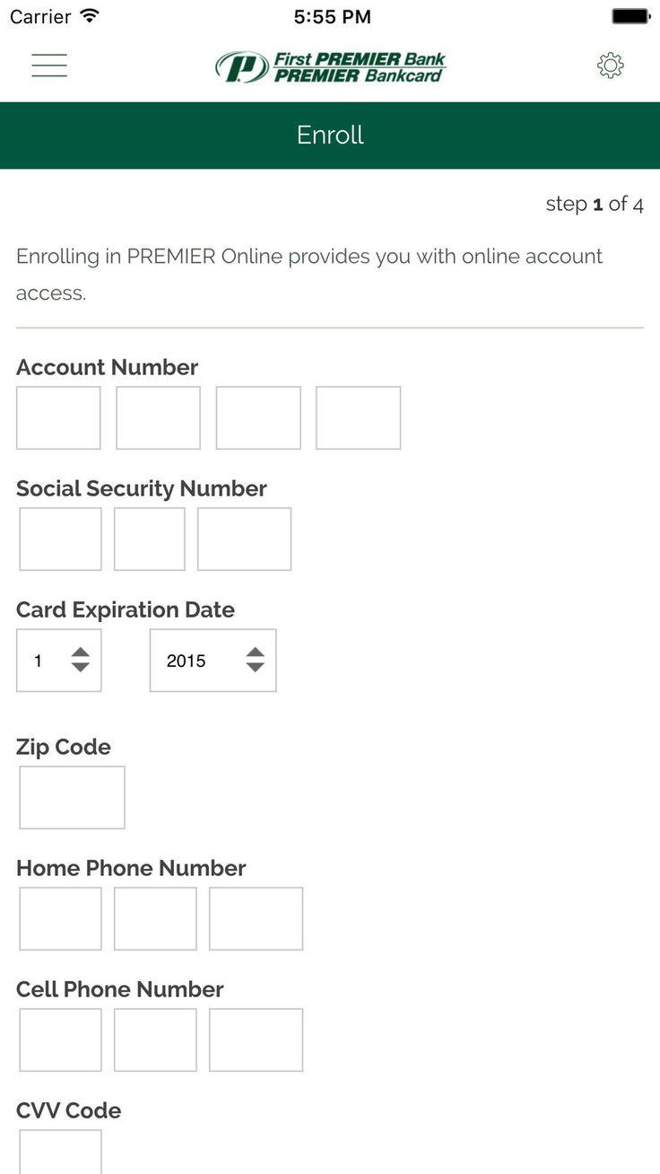 My premier credit card financebankcardappsios credit