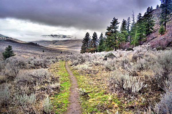 White Lake Trail, Okanagan Valley BC Canada