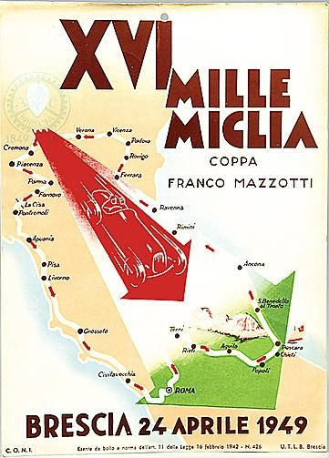 1949 Mille Miglia http://www.wheelsofitaly.com/wiki/index.php?title=Mille_Miglia