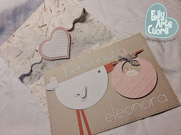 card nascita by Elly arte cuore