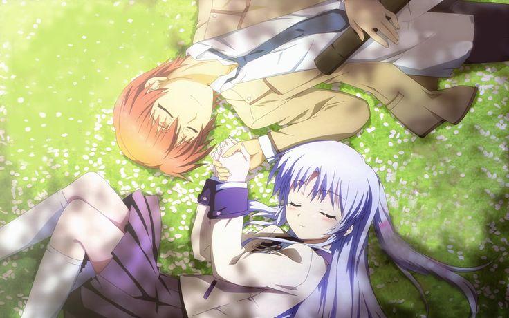 Angel Beats! - Otonashi and Kanade! Ma favorite anime ever. I swear I'll never…