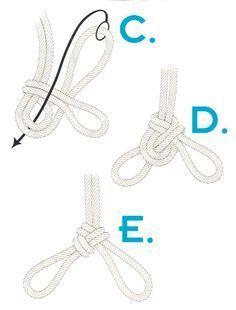 JCT❤️.  Three part crown knot C