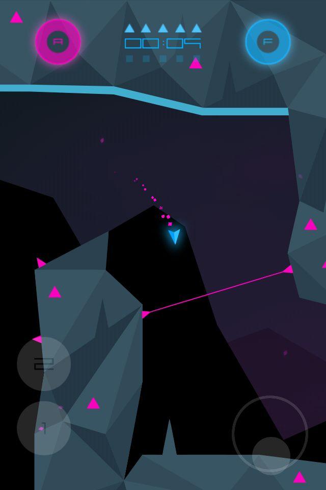 Heavy Rockets iPhone 4 screenshot.