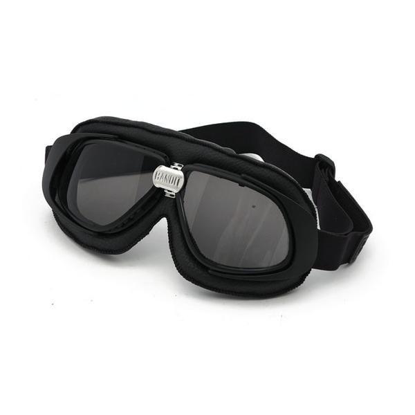 Bandit - goggles - Sorte med sotet glass