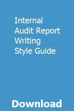 Report writing style indirect