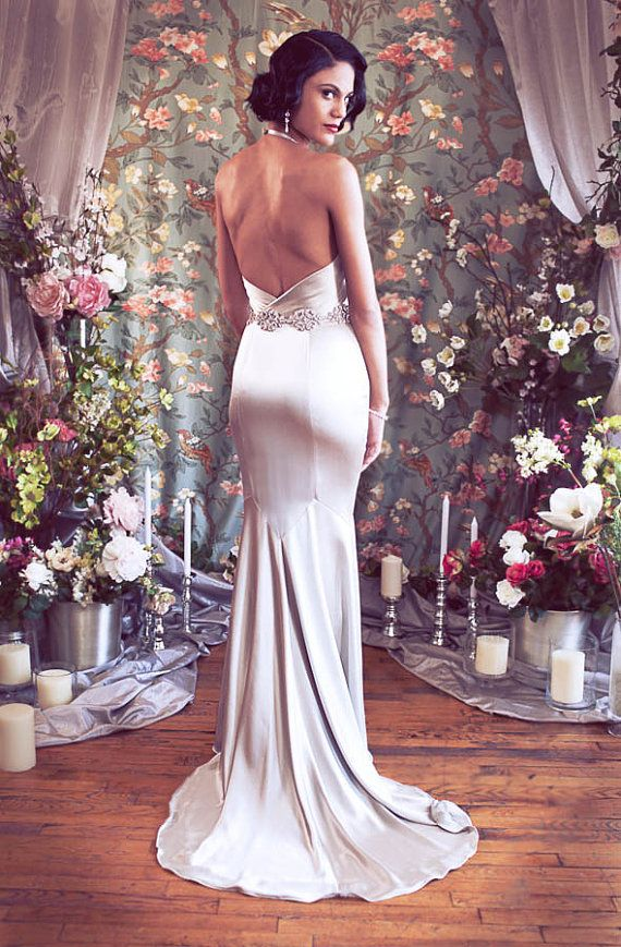 17 best ideas about vintage hollywood wedding on pinterest for Old hollywood wedding dress