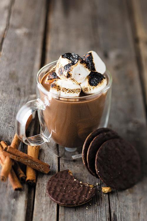 S'mores hot chocolate   warmsjokolade