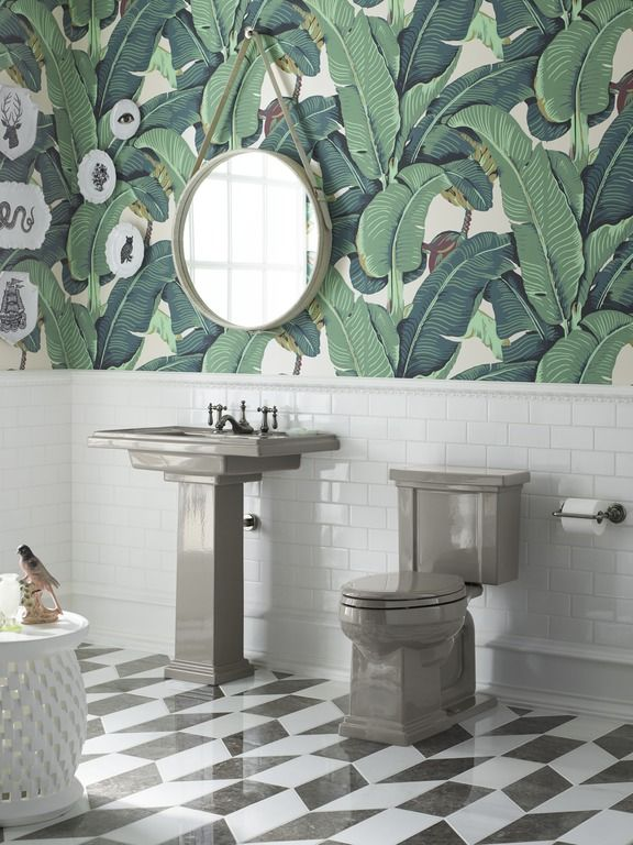 20 Best Palm Collected Bathroom Images On Pinterest Palm Beach Mood Boards And Bath Powder