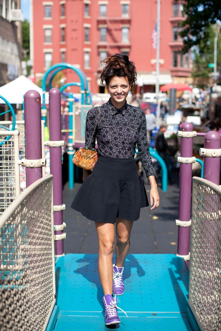 The 17 best outfits we spotted at Brooklyn Flea