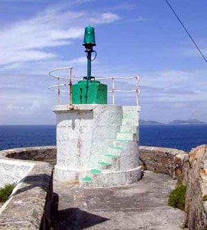 Faro de Punta Lameda. Ría de Vigo / Galicia / Spain