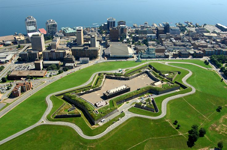 Citadel Hill (Fort George) and the city of Halifax, Nova Scotia, Canada  http://en.wikipedia.org/wiki/Citadel_Hill_(Fort_George)