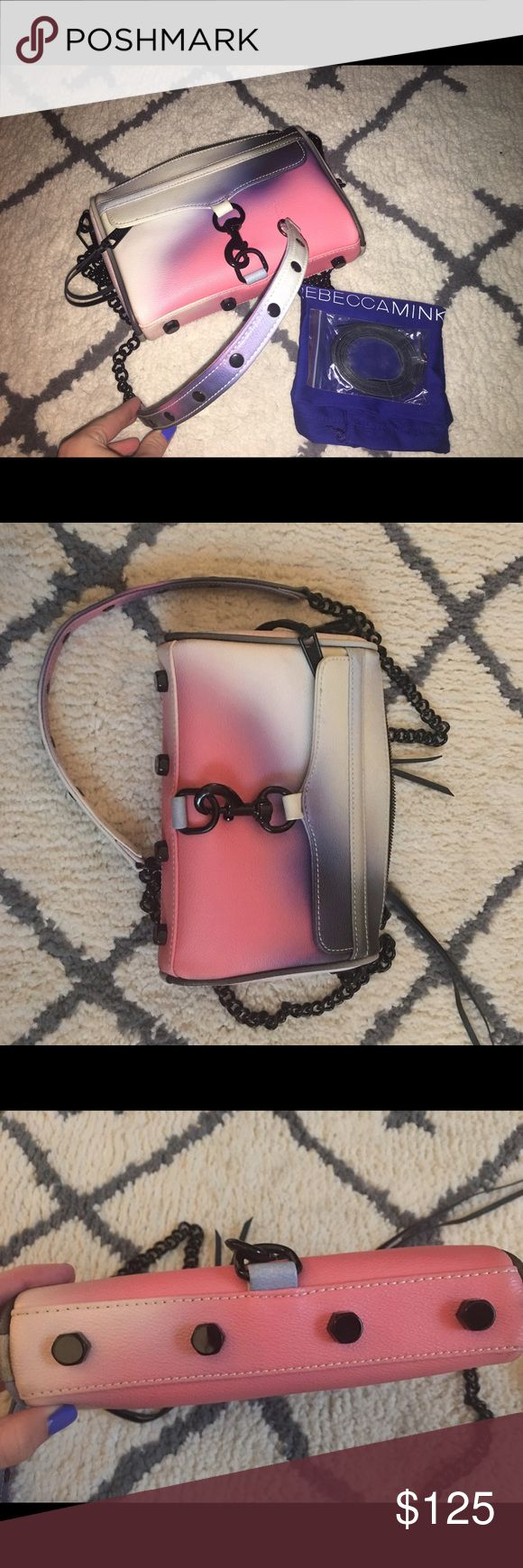 Rebecca minkoff mini MAC Rebecca minkoff mini mac comes with dust bag and extra strings no damages like new Rebecca Minkoff Bags Crossbody Bags