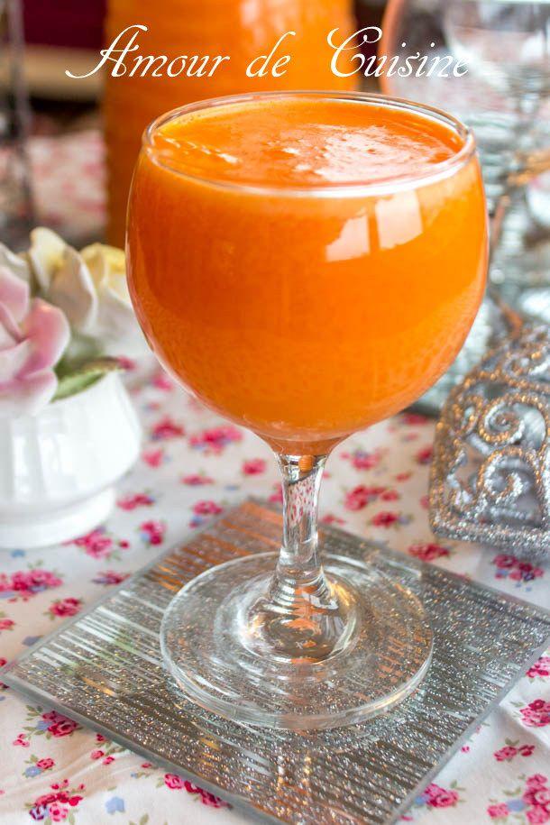 jus d'orange et carottes 1