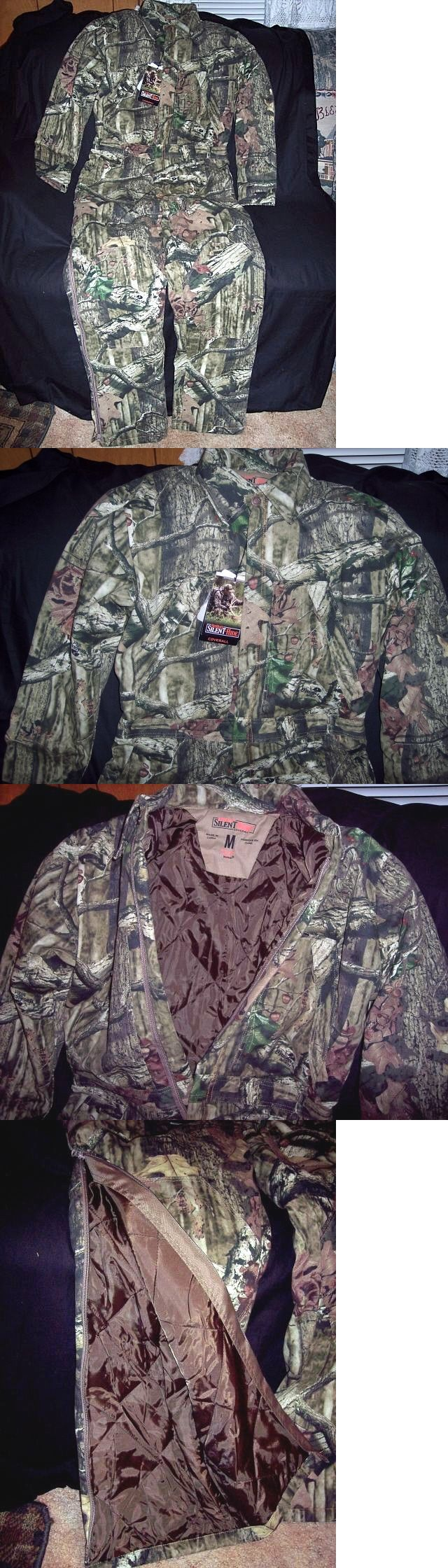 Coveralls 177869: Mossy Oak Camo Coveralls Insulated Coveralls Hunting Coveralls Camouflage Medium -> BUY IT NOW ONLY: $89 on eBay!