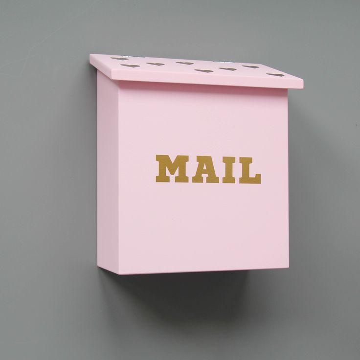 Детский почтовый ящик розовый купить