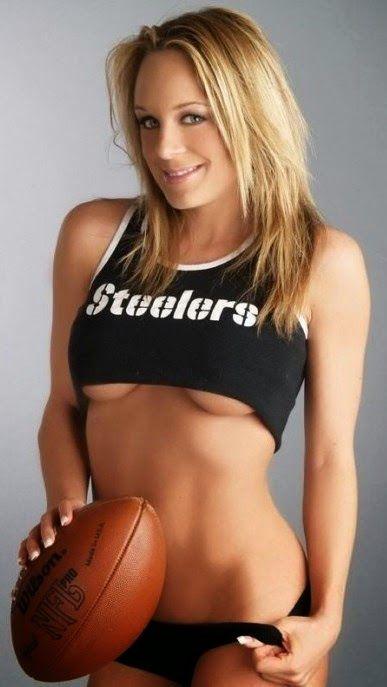 steelers football jersey strip nude