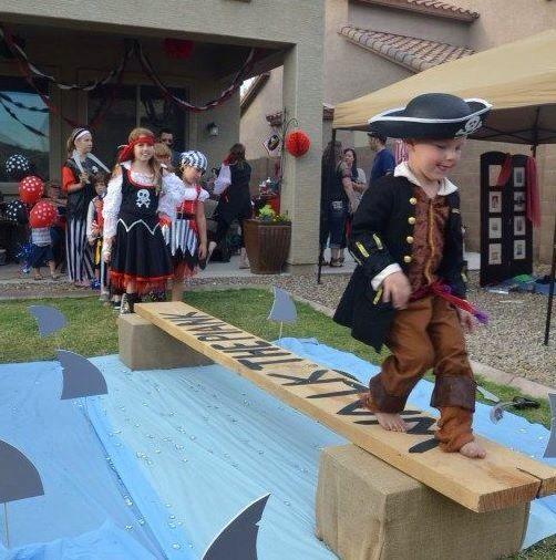 Juego para fiesta pirata